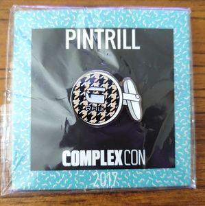 Complexcon x Pintrill x G-Star Raw. Pin,Collectors